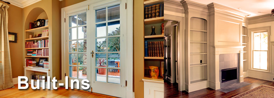 Built Ins Custom Cabinetry